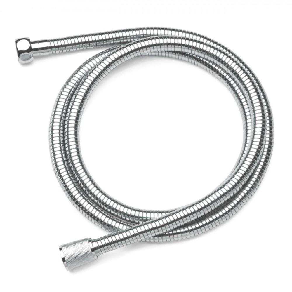 Tubo Flessibile 2mt in Metallo 329764 Ricambio Universale per Soffione Doccia