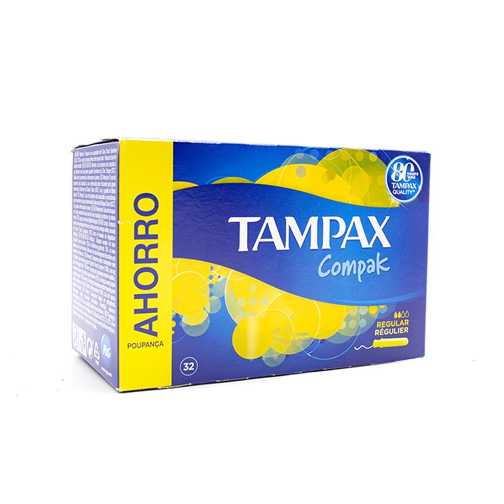 Tampax Assorbenti Compak Regular 285953 confezione da 32 pezzi