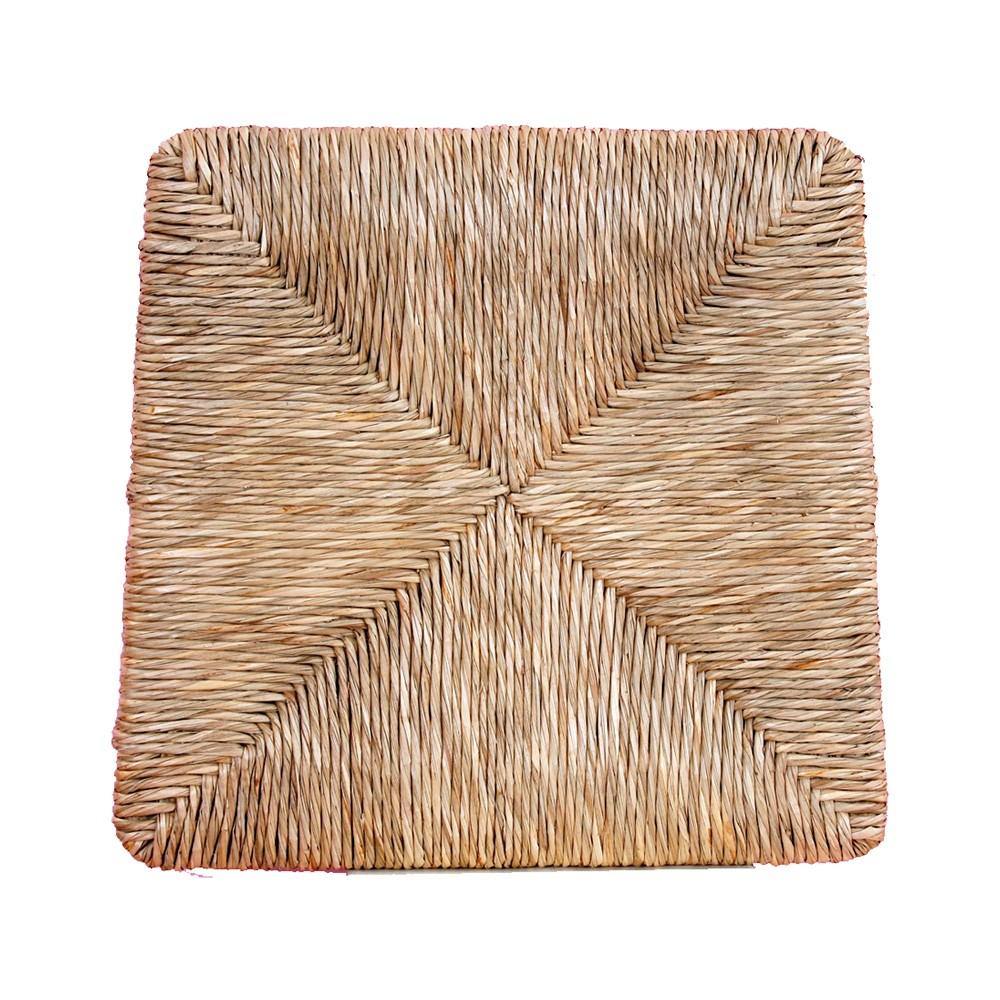 Ricambio Seduta 427 in Paglia Naturale Telaio Fondo per Sedia Silvana 35x39 cm