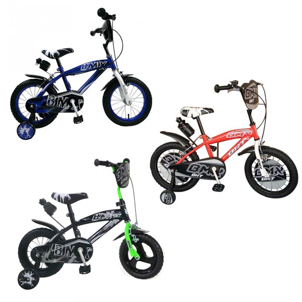 Bicicletta BMX baby taglia 16 bici per bambini 510194 età 4 - 7 anni