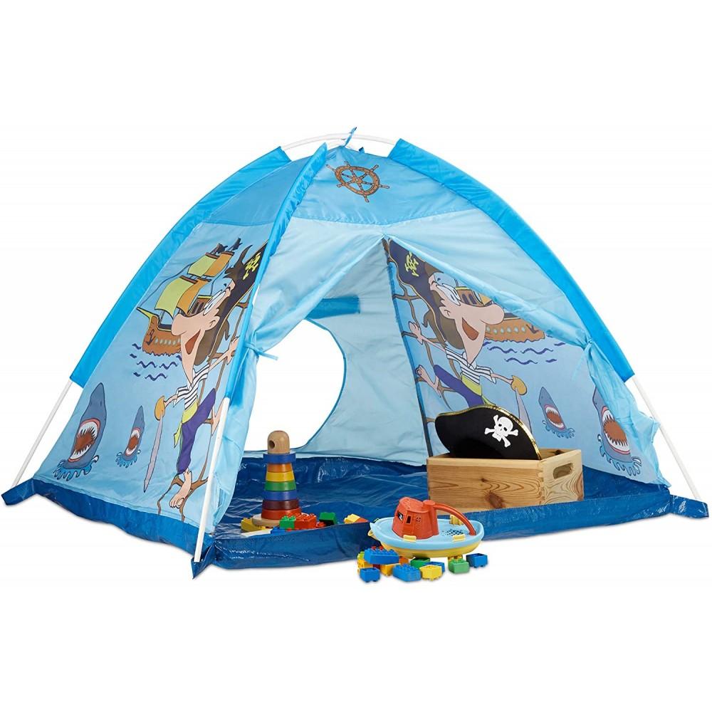 Tenda da Gioco Pirati Forma di Piramide Linea CIGIOKI 112x112x94 cm per Bambini