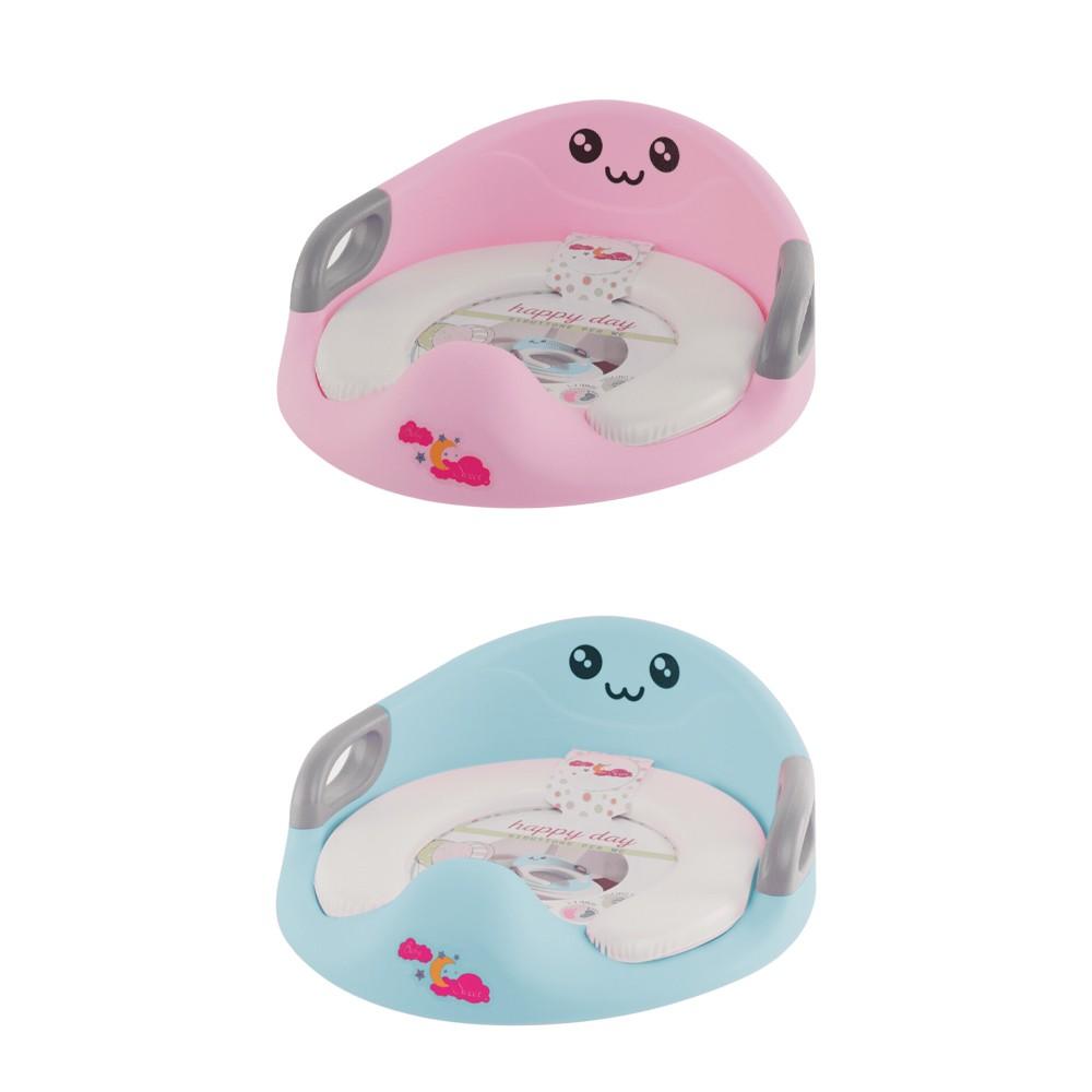 Riduttore WC per Bambini 526200 Sedile da Toilette Ovale Morbido con Paraspruzzi