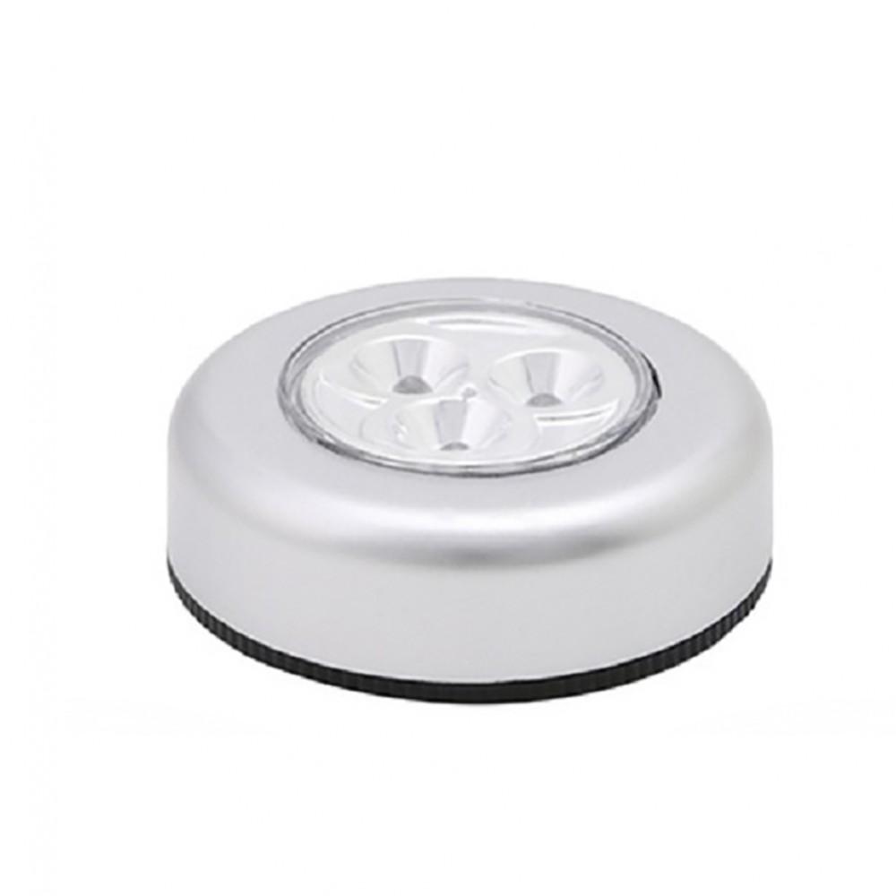 Lampada Push adesiva luce emergenza portatile a batteria per armadio cassetti