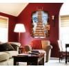 """Adesivo decorativo con effetto in 3d """"il ponte sospeso"""" bridge wall sticker 3d effect per arredare con stile 60 x 90cm"""