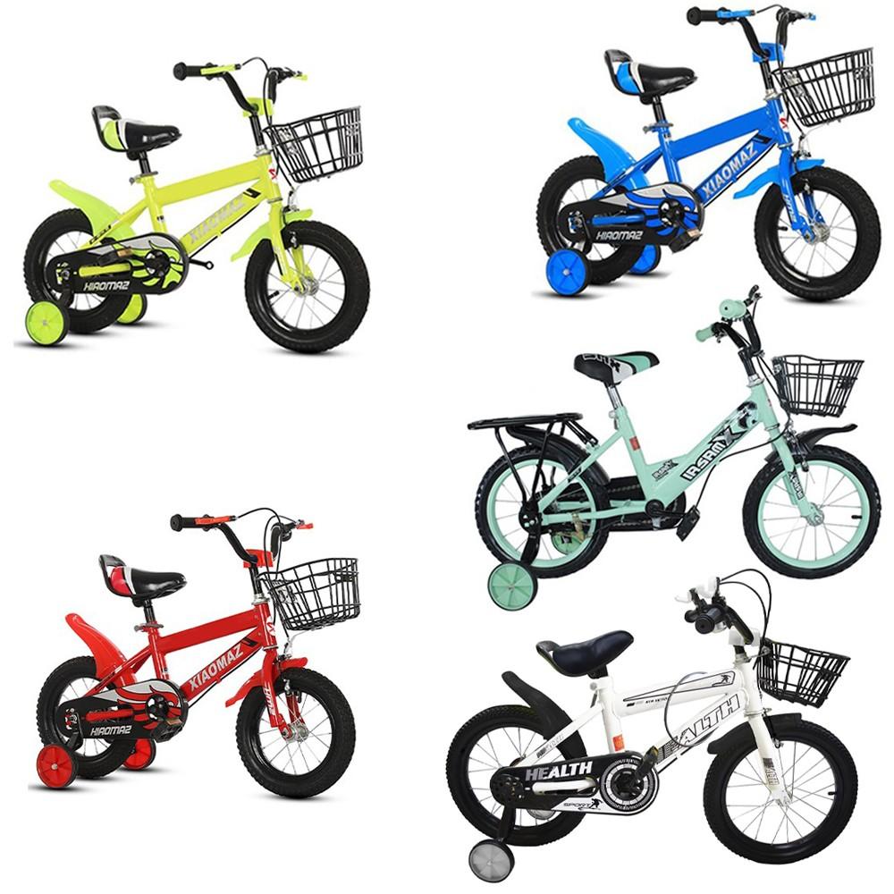Bicicletta Magic da bambini taglia 14 con cestino età 4 - 6 anni con rotelle