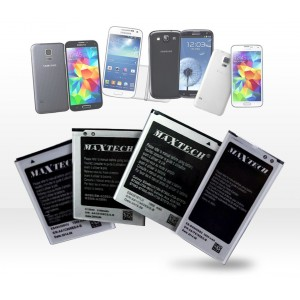 Batteria compatibile Samsung Galaxy s4 Mini i9192 e successivi MaxTech Li-ion battery 1900mAh T011