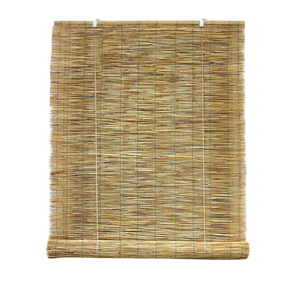 Tenda arella bamboo 202463 con carrucola resistente alle intemperie 120 x 260 cm