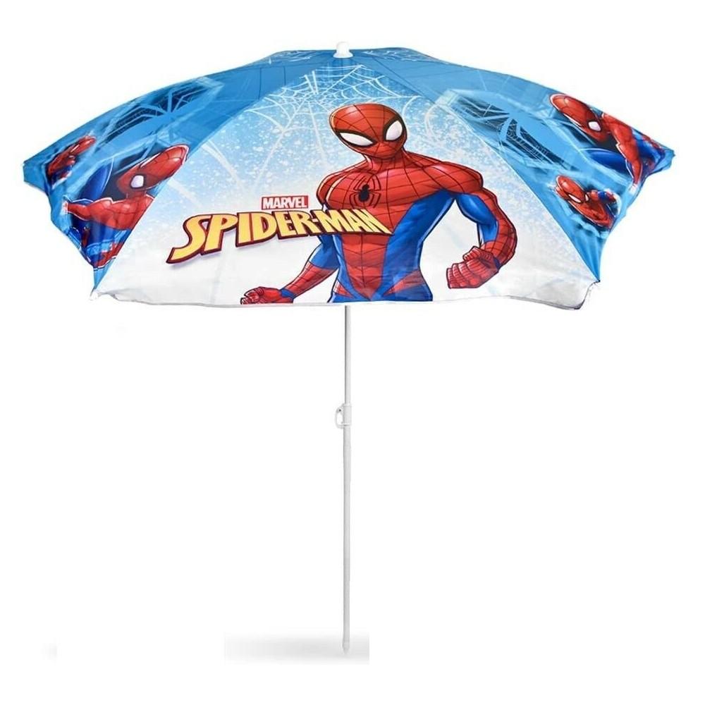 Ombrellone Spiderman per Bambini da Spiaggia 503936 Parasole Custodia e Staffa