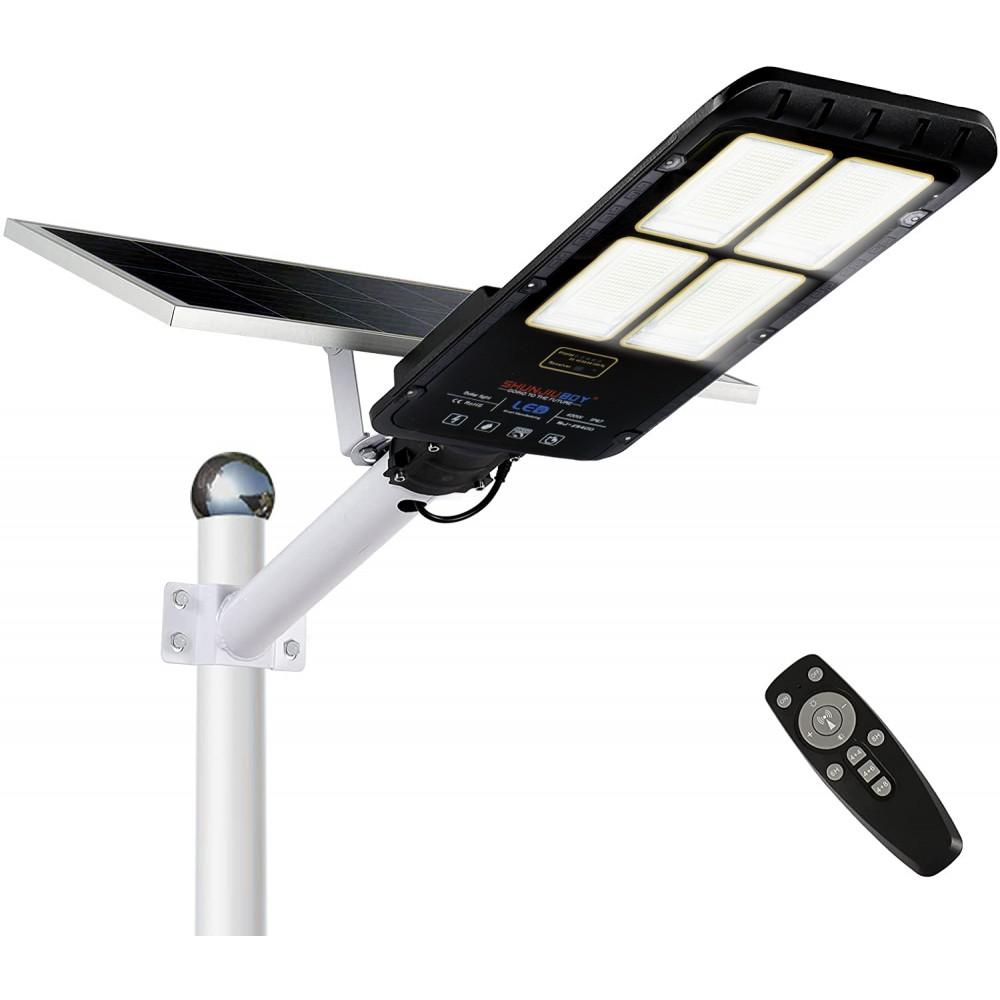 Lampione led a pannello solare 294001 sensore di movimento 400W protezione IP67