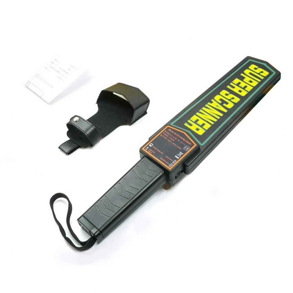 Metal detector Super Scanner 180173 sensibilità regolabile e presa ergonomica