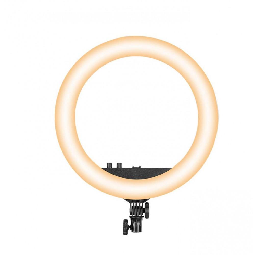 Lampada ad anello luce led 45 cm faro selfie 187165 potenziometro