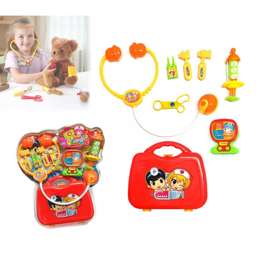 Playset dottore MINI DOCTOR con valigetta e tanti accessori per curare giocattoli o persone 373023