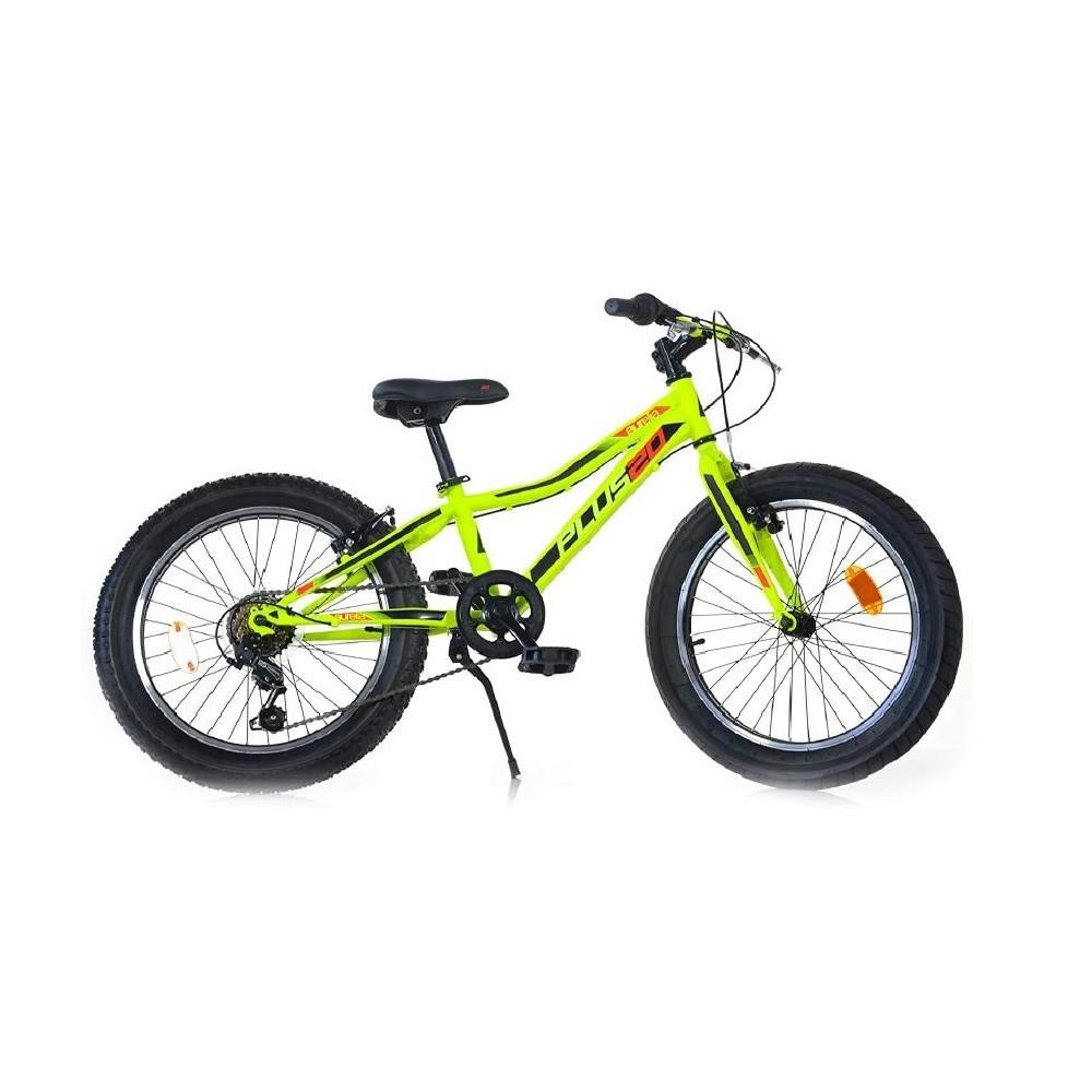 Bici 20 MTB Plus Dino Bikes Art. 420-UP 6-10 anni mountain bike con ruote fat 6V