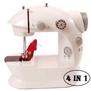 Image of Mini macchina per cucire cucito portatile 4 in 1 8074874347853