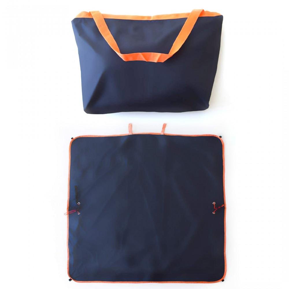 Telo borsa multifunzione TRAVEL BAG OUTDOOR 2 in 1 per campeggio montagna mare