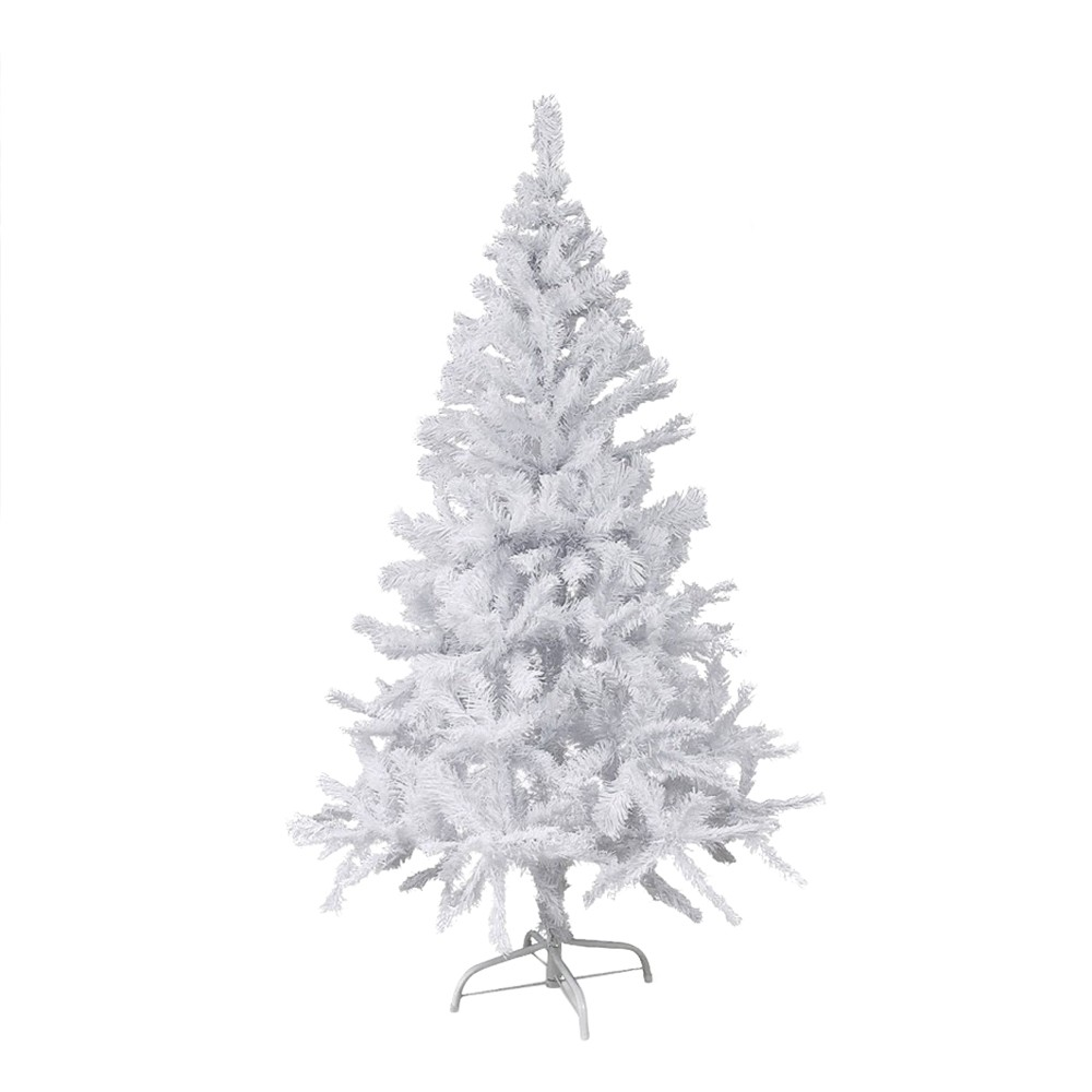 Albero di Natale Bianco 90 cm Abete Artificiale BIANCONATALE con Rami Pieghevoli