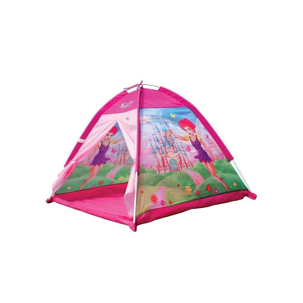 Tenda da gioco principessa fatata 112x112x79 cm castello per bambine Cigioki