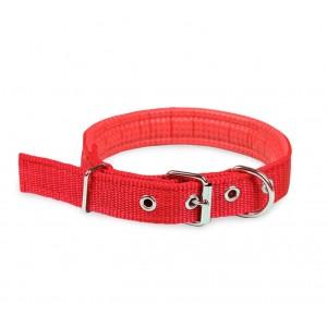 Image of Collare in nylon mod. Phoenix con imbottitura per cani di taglia media chiusura fibbia regolabile 8021084901443