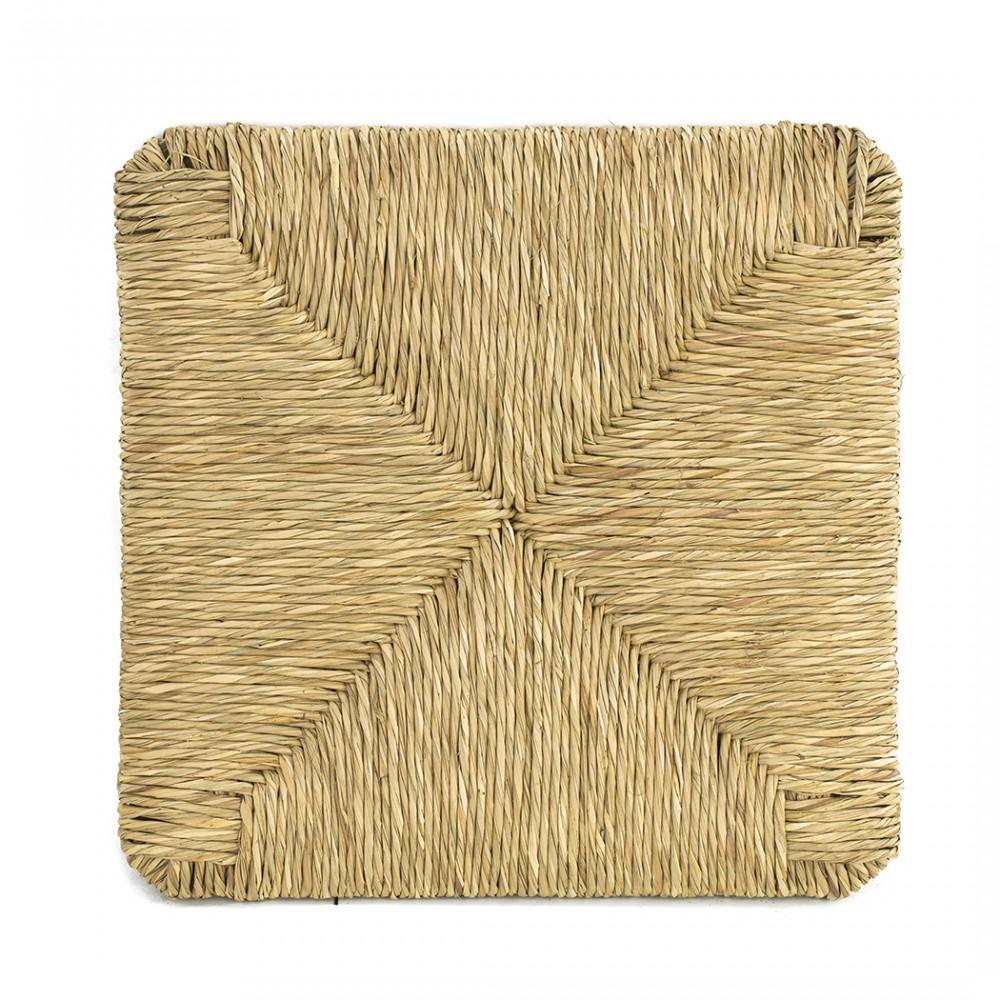 Ricambio Seduta art. 901 in Paglia Naturale Telaio Fondo per Sedia Pisa 37x37cm