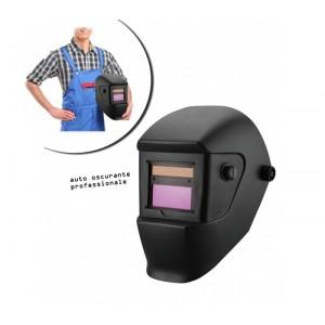 Elmetto per saldature ad oscuramento automatico adatto per MMA MIG-MAG e TIG con pannello solare