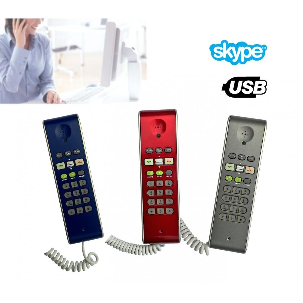 Telefono usb voip compatibile con Skype per chiamare i tuoi amici di skype