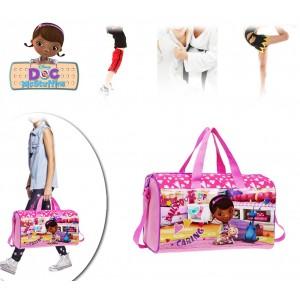 Borsa da viaggio sport mare Dottoressa Peluche in Microfibra 24 x 42 x 21 cm bagaglio a mano Disney 4043351