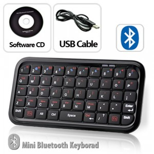 Mini tastiera bluetooth 3.0 compatibile Apple,Smartphone