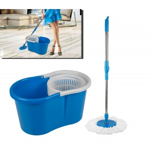 Secchio e mop girevole 360° sisitema puliza innovativo Magic Mop LIFETIME CLEAN 53922