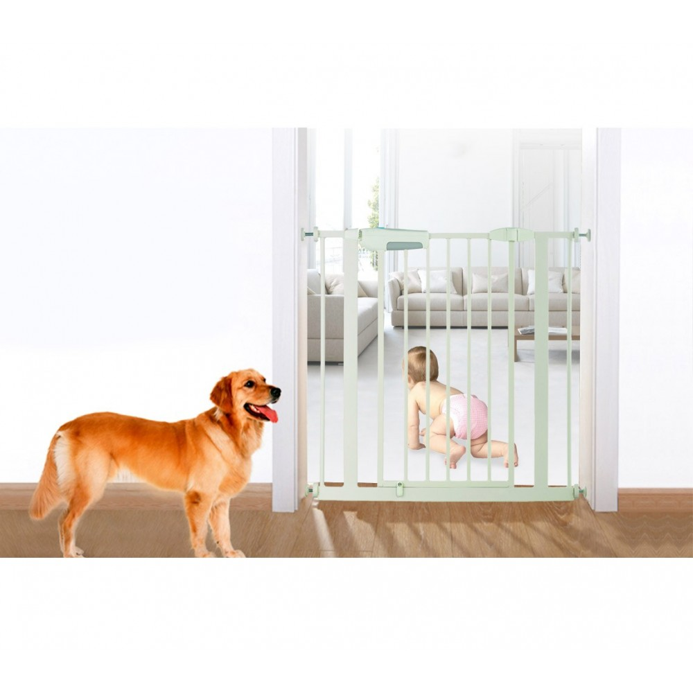 KH-001 Cancello con bloccaggio a pressione per bambini e animali domestici