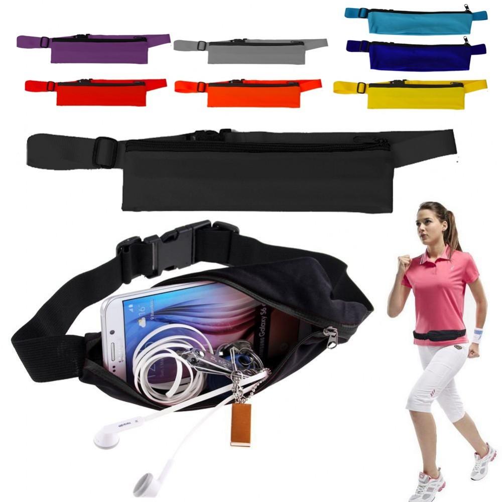 41645 Marsupio sportivo porta oggetti cinta regolabile per attività sportive
