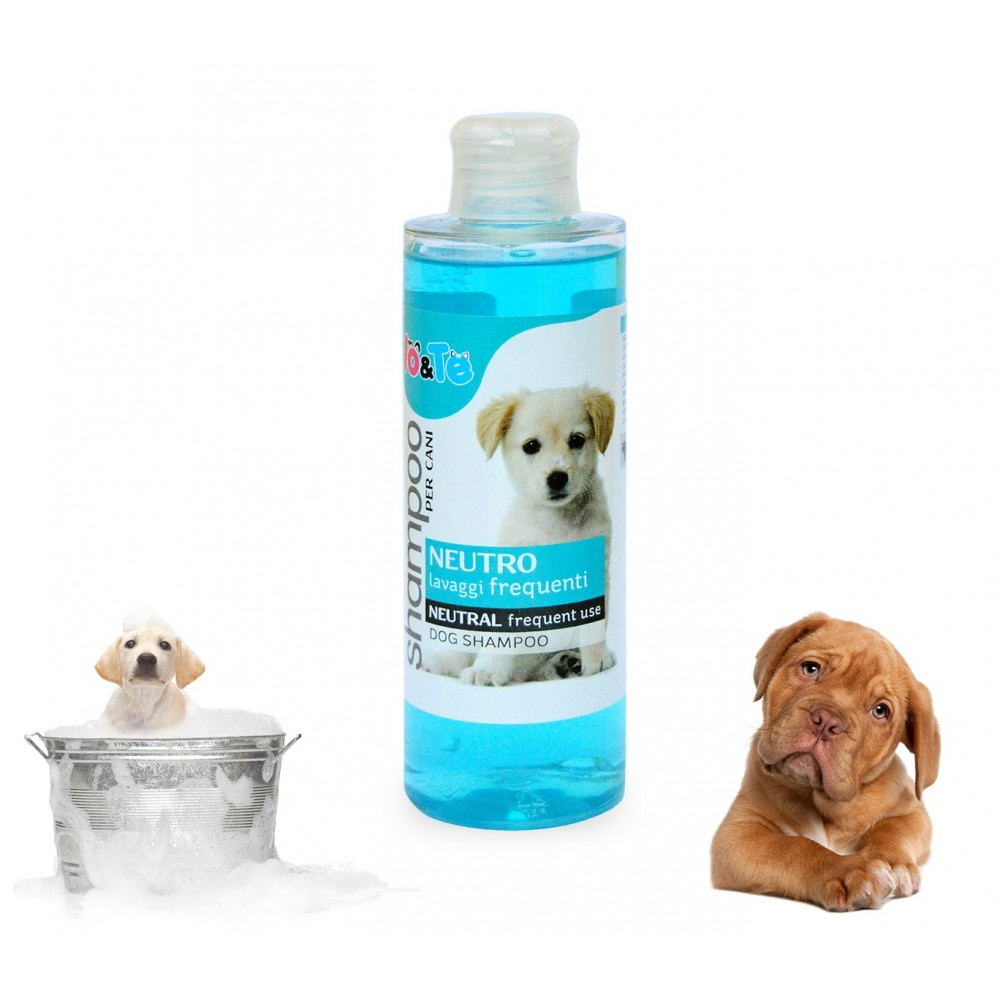 Shampoo cani neutro aloe vera e pantenolo 200 ml IO&TE lavaggi frequenti