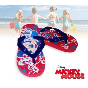 2301000853 Ciabatte infradito Disney Topolino Mickey Mouse sandali gomma rossi