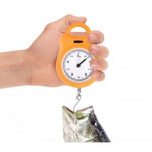 Bilancino multiuso analogico fino a 5 kg indicato per la pesca e per la caccia pesa frutta e verdura