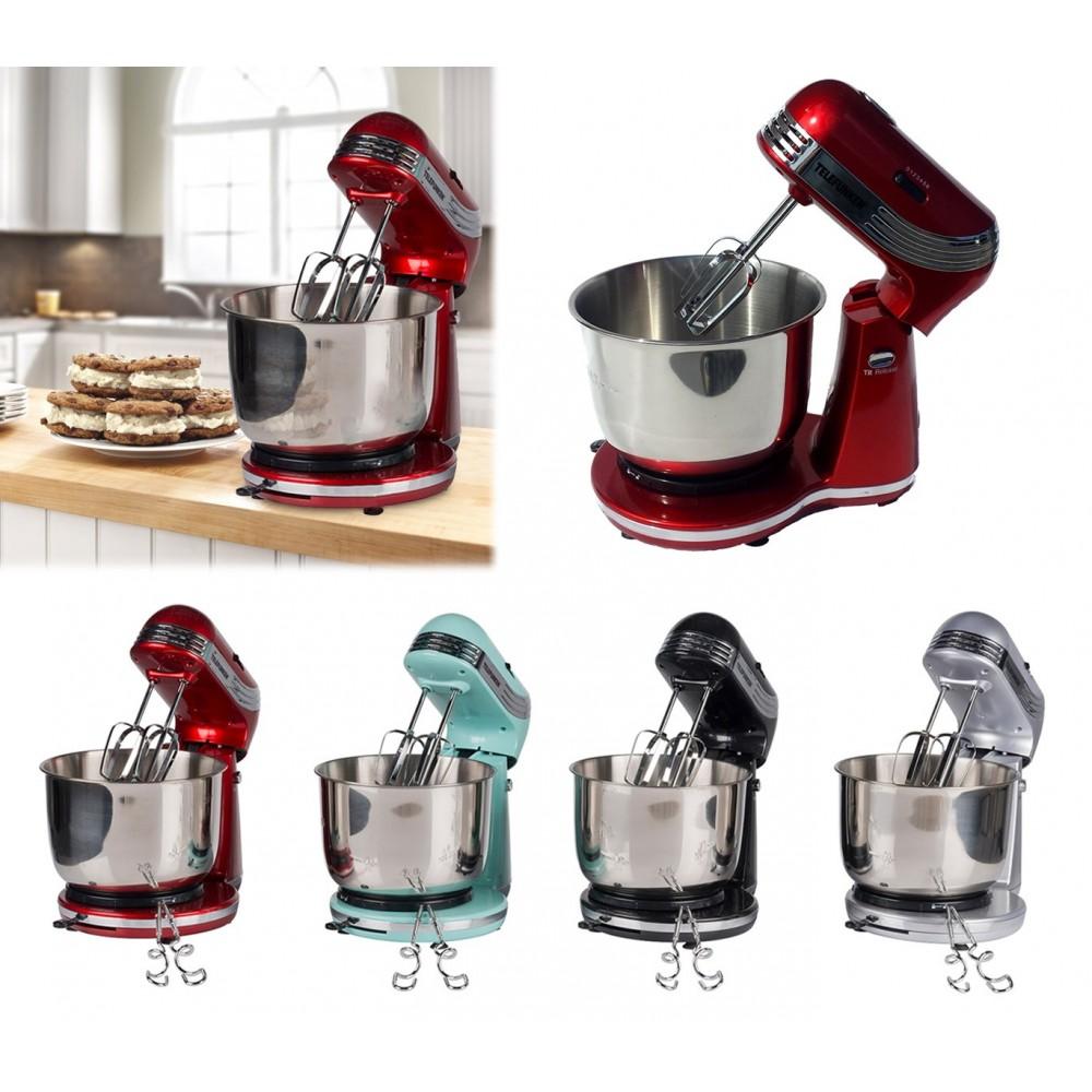 22644 Mixer robot da cucina impastatrice Telefunken a 6 velocità 250 watt