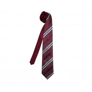 Image of PW28 Cravatta Eleven Classic con trama e struttura a coste handmade 8012383081264