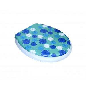 Image of 2416 Copri water con sedile universale seduta morbida coprivaso Soft Art 8018971209126