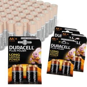 Pack da 16 o 32 stilo AA Duracell long lasting durablock alcaline MN1500