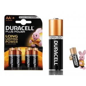 Pack da 16 o 32 stilo AA Duracell long lasting durablock alcaline
