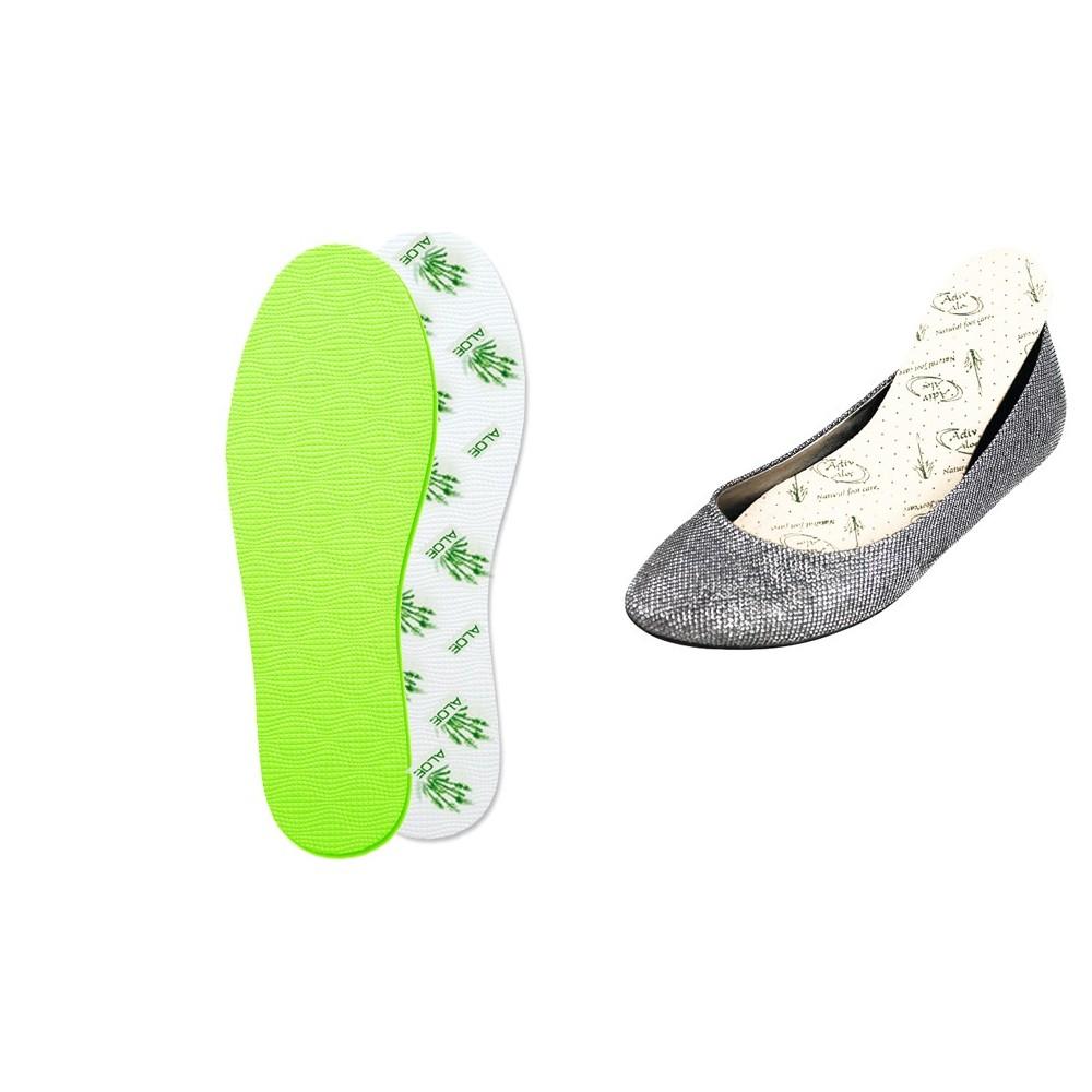 Soletta scarpe ANTIBATTERICA ortopedica e comoda protegge da funghi e maleodori
