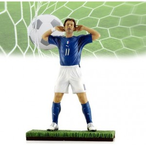 Image of Action Figure Alberto Gilardino 1:9 limited edition statuina football 16 cm 8037376436548