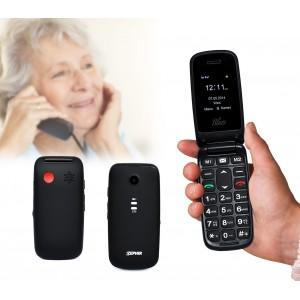 Cellulare gsm per anziani Zephir Blues con fotocamera e radio
