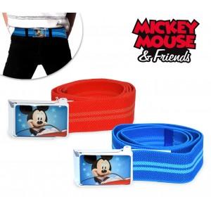881 Cintura elastica Disney bambino con fibbia Topolino
