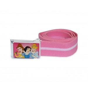 Image of 305884 Cintura elastica 75 cm Disney bambina con fibbia decorata PRINCIPESSE 8014849865319