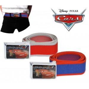 305885 Cintura elastica 75cm Disney bambino con fibbia decorata CARS